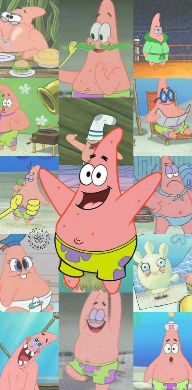 Patrick Star Collage
