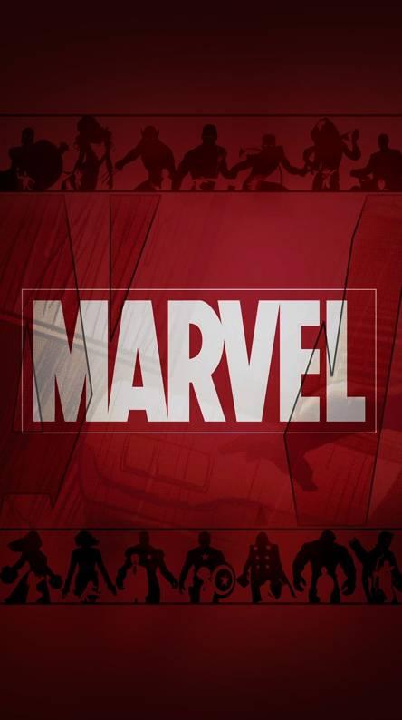 Marvel Logo Silhoute