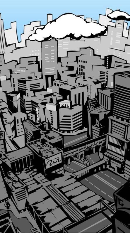 Persona 5 city