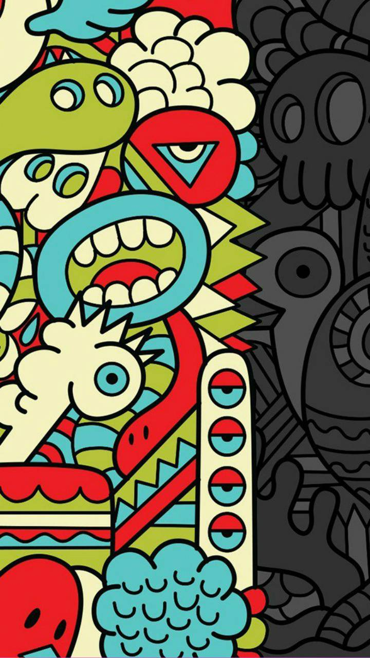 Figuras Colors Black