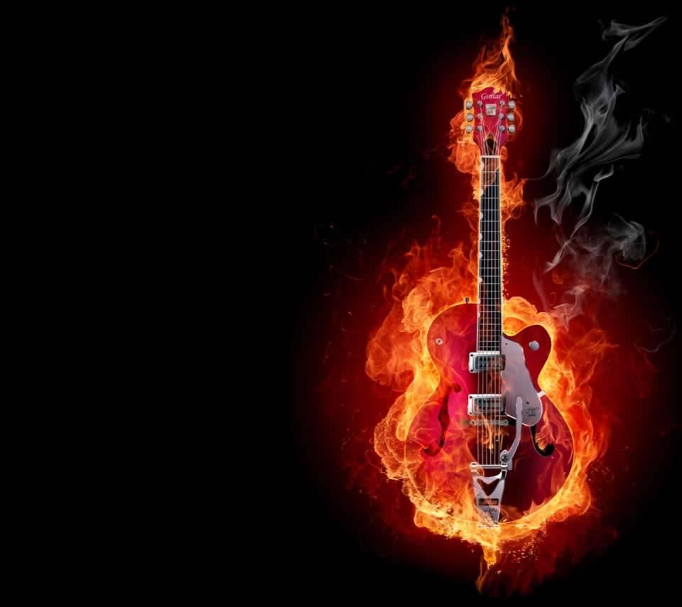 The Burning Guitaar