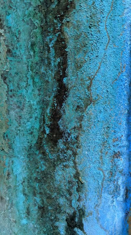 Blue corrosion