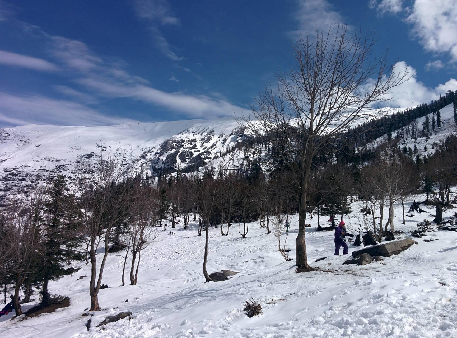 Snow manali