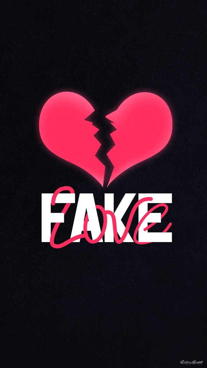 Fake Love wallpaper by SrabonArafat - cd - Free on ZEDGE™