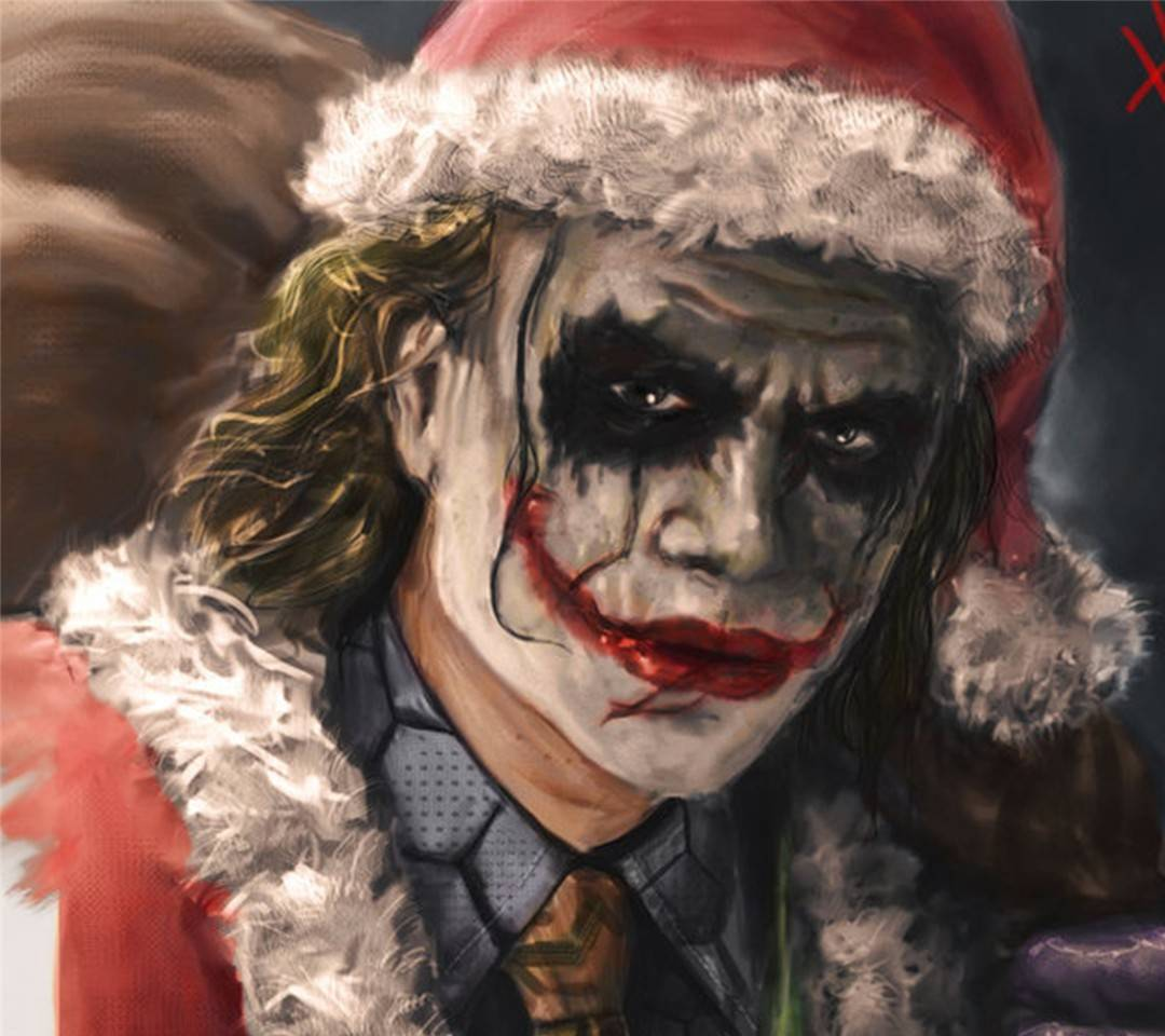 Joker Santa Claus