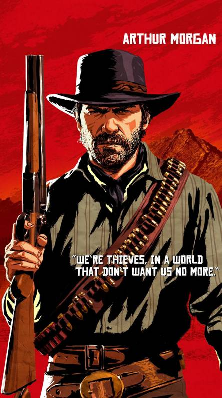 red dead redemption 2 wallpaper iphone