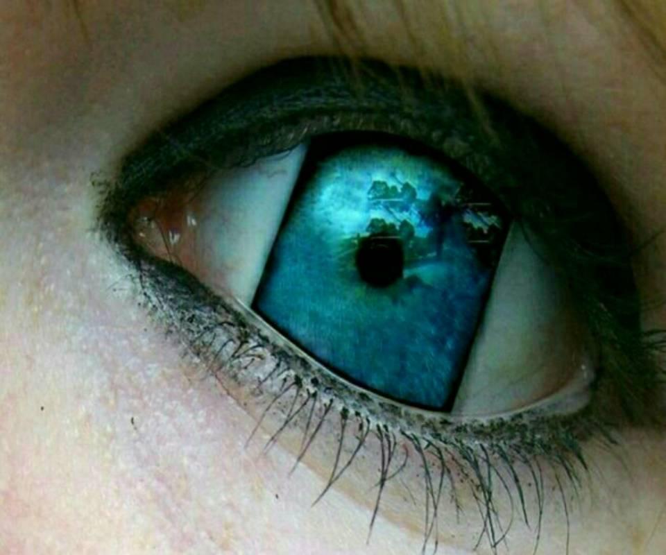 3d eye image