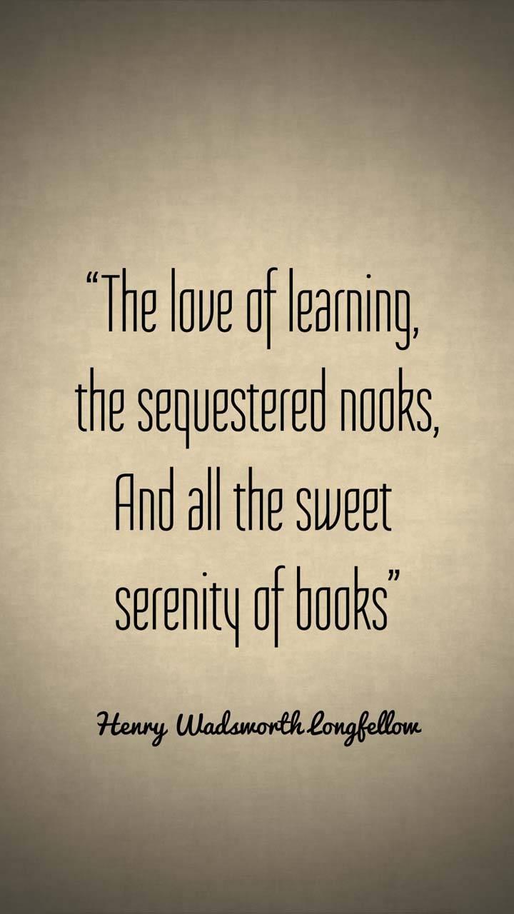 Serenity of Books