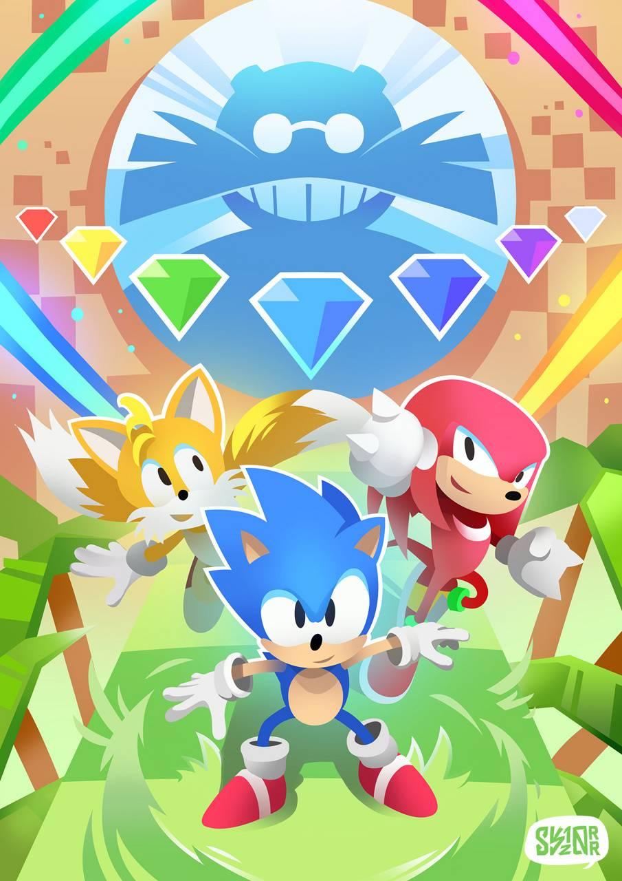 Sonic Mania Wp wallpaper by BlackSega - dd - Free on ZEDGE™
