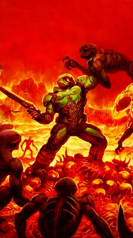 Doom Slayer Wallpapers Free By Zedge