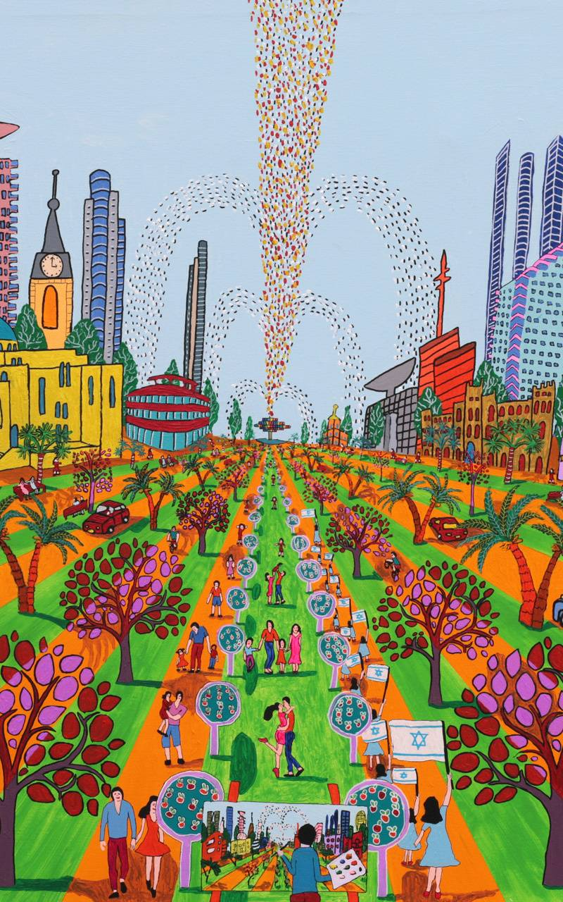 urban landscape art