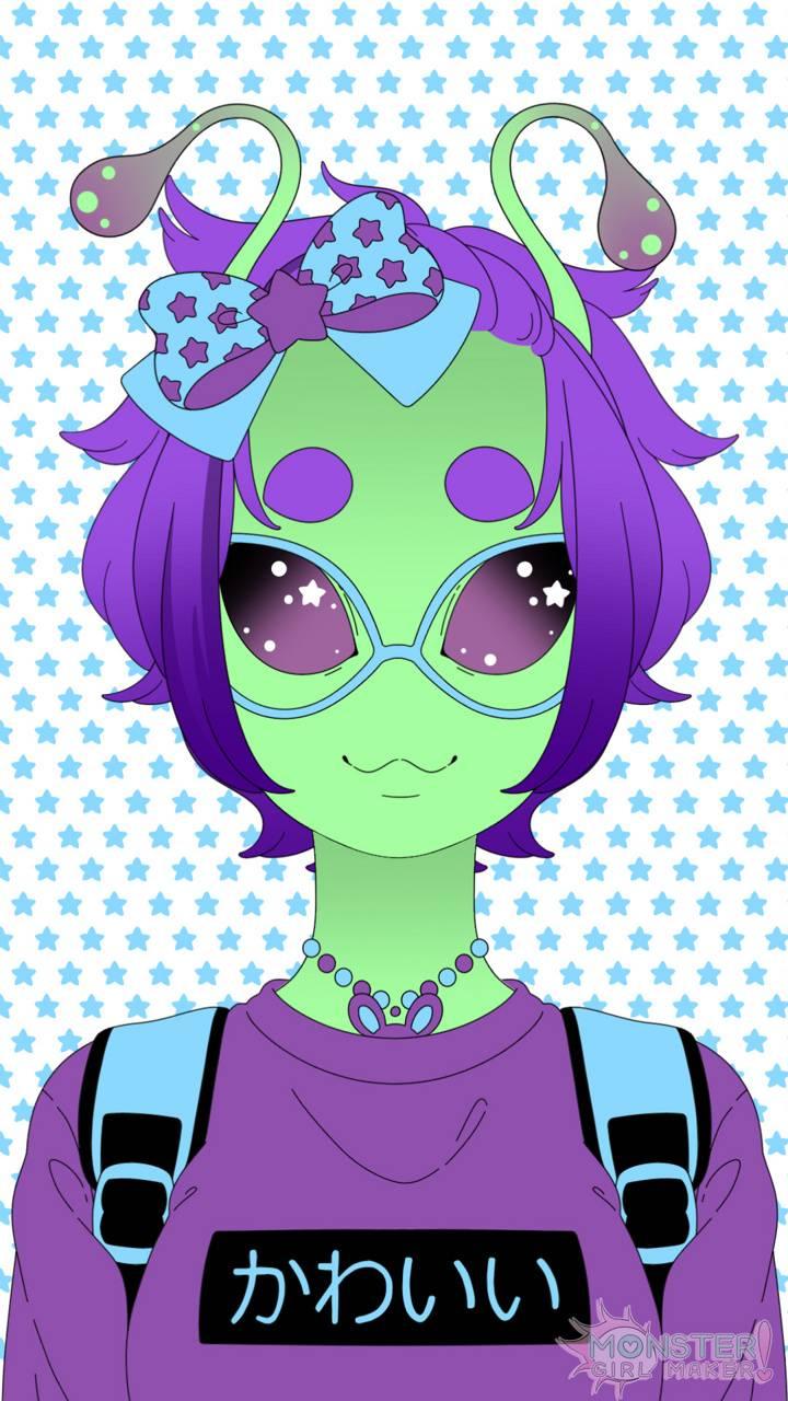 Alien School Girl