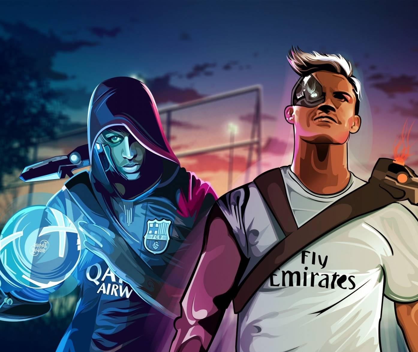 Neymar Jr vs Ronaldo