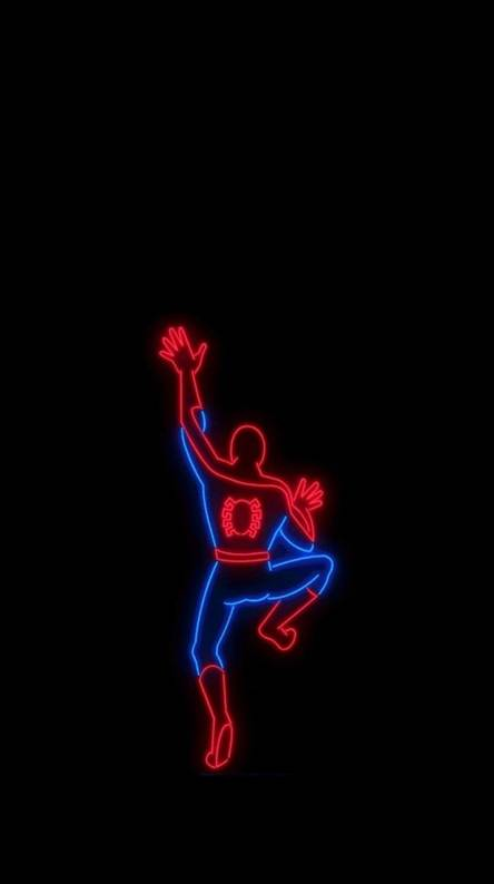 Spiderman Neon Ringtones And Wallpapers Free By Zedge