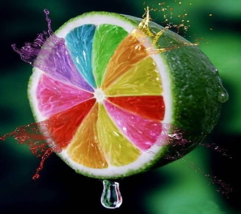 Rainbow Lemon Burst