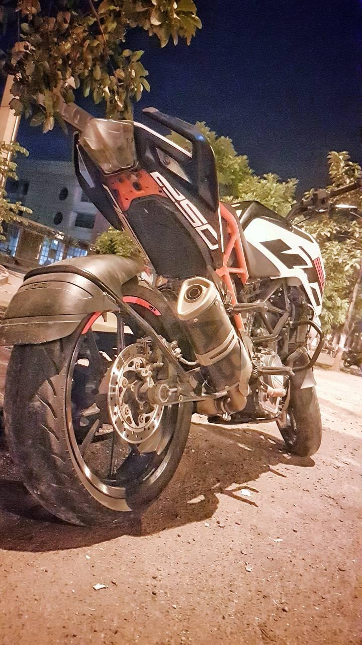 KTM DUKE 250 AB