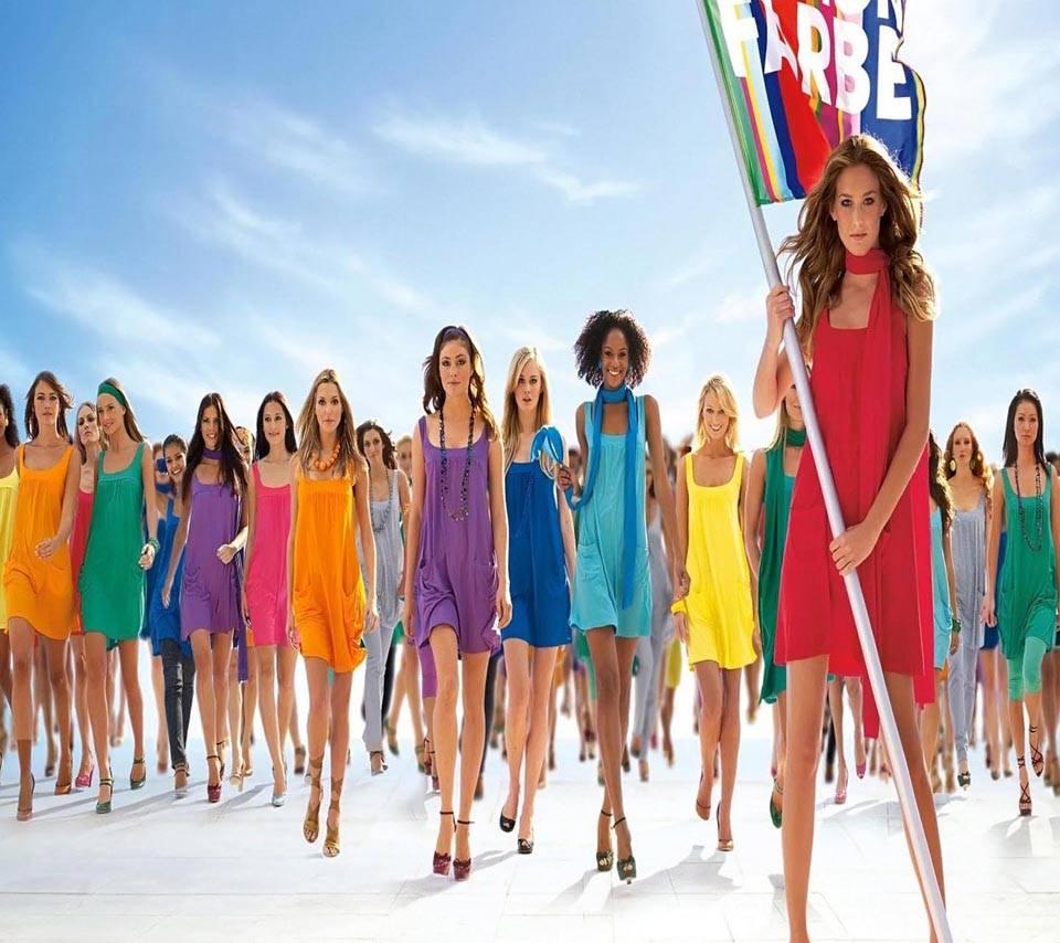 Dress fashion show
