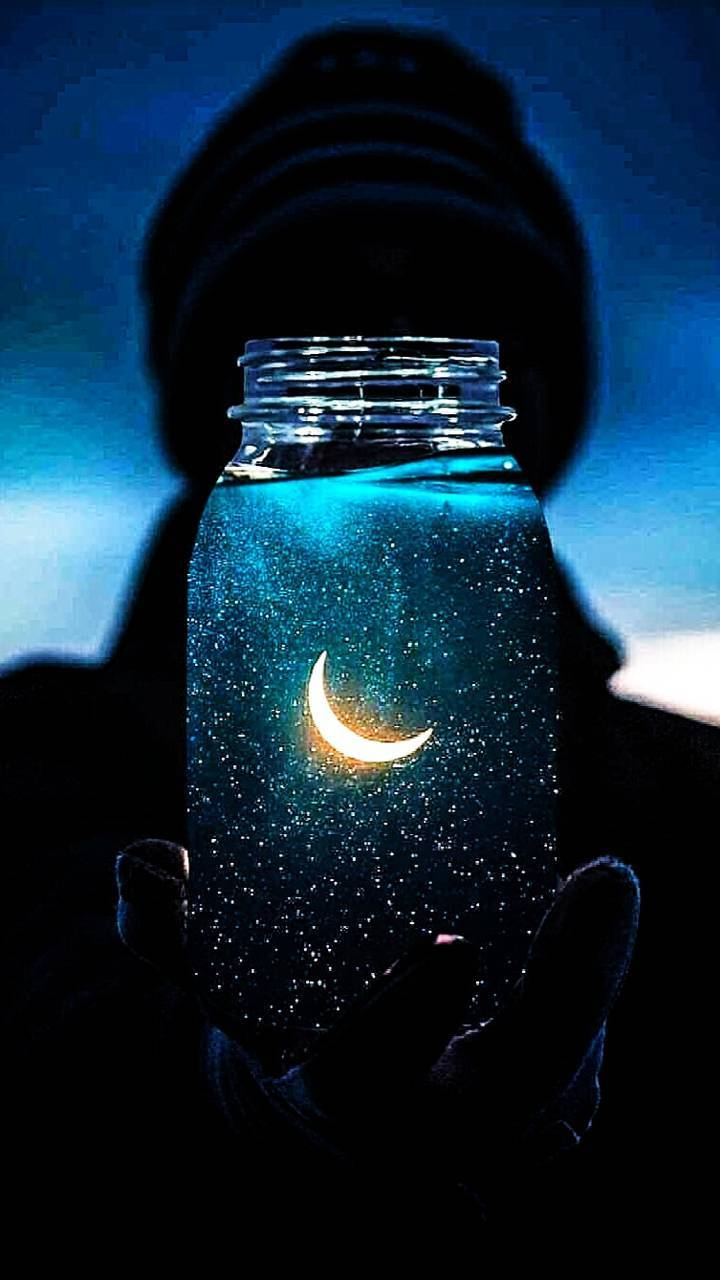 Moon in a jar wallpaper by bamaboy0526 - 6d - Free on ZEDGE™