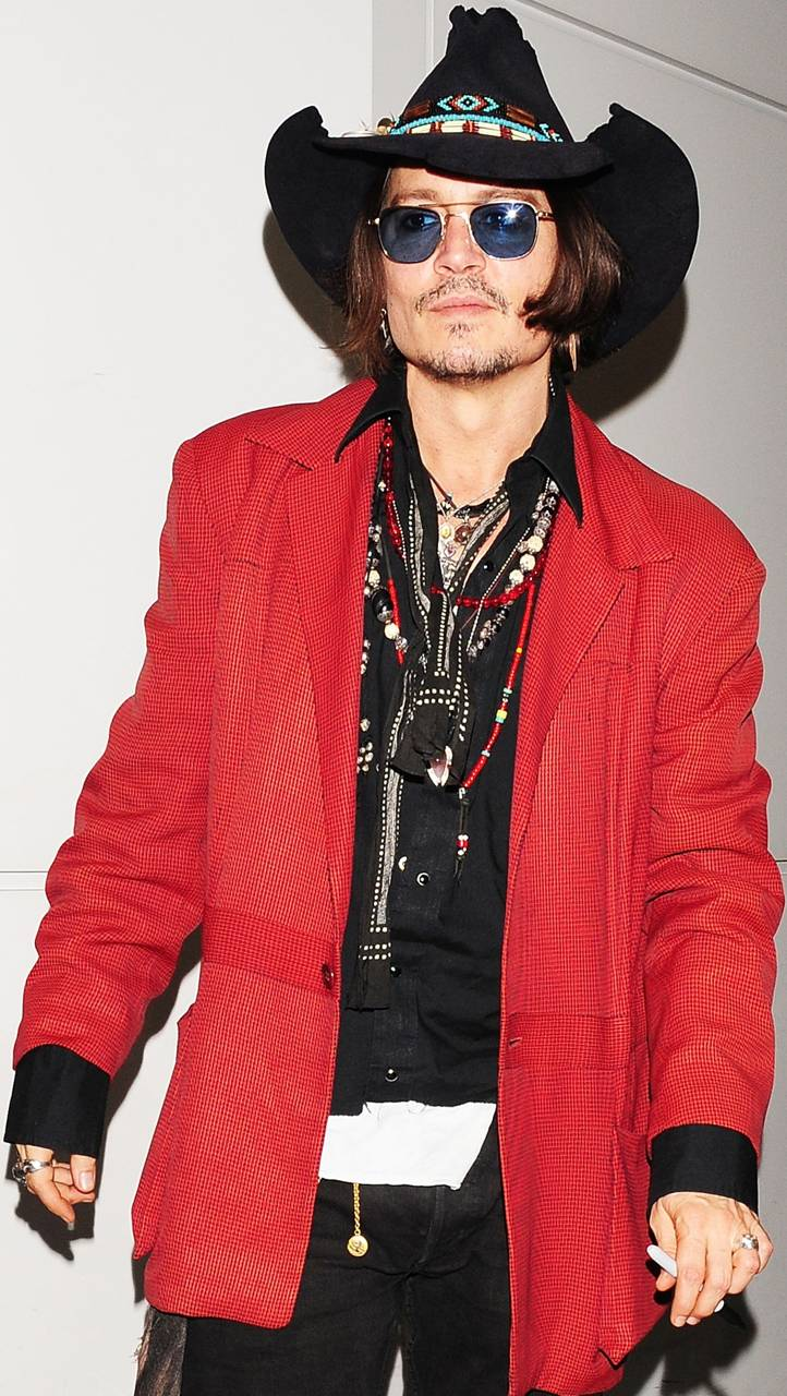 Johnny In Red