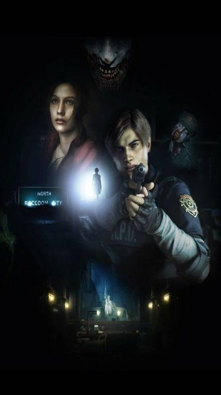 Resident Evil 2 Phone Wallpaper Ranktechnology