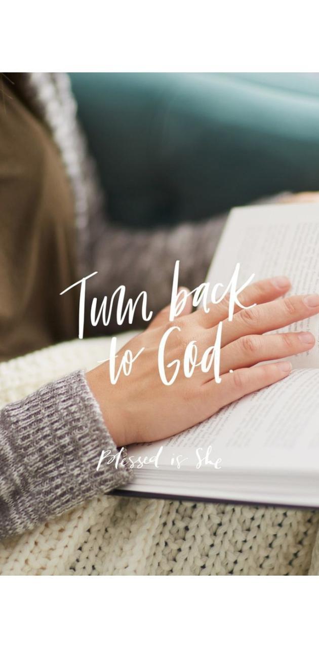 Turn back to God