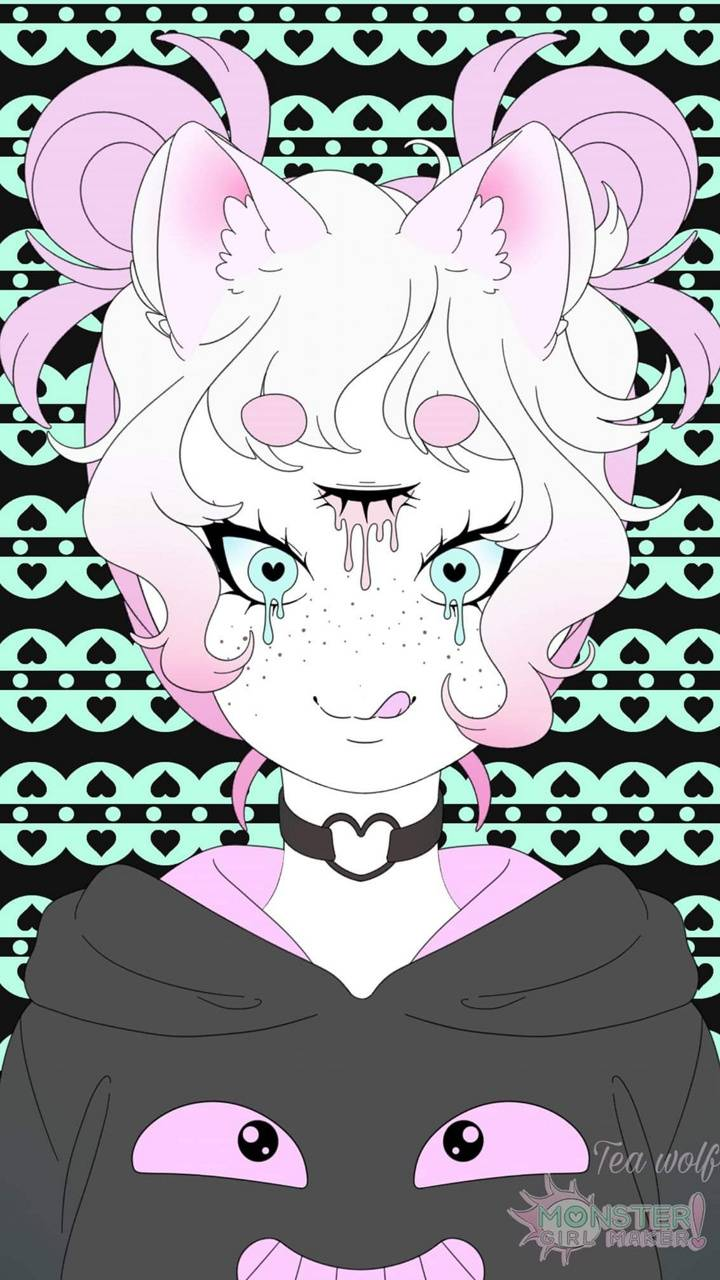 Pastelgoth monster