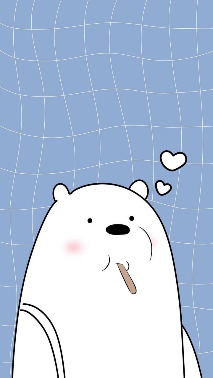 Cute ice bear