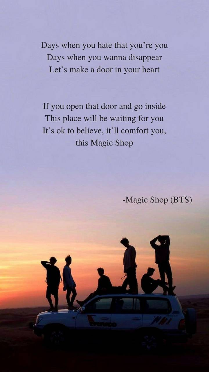 BTS Magic Shop