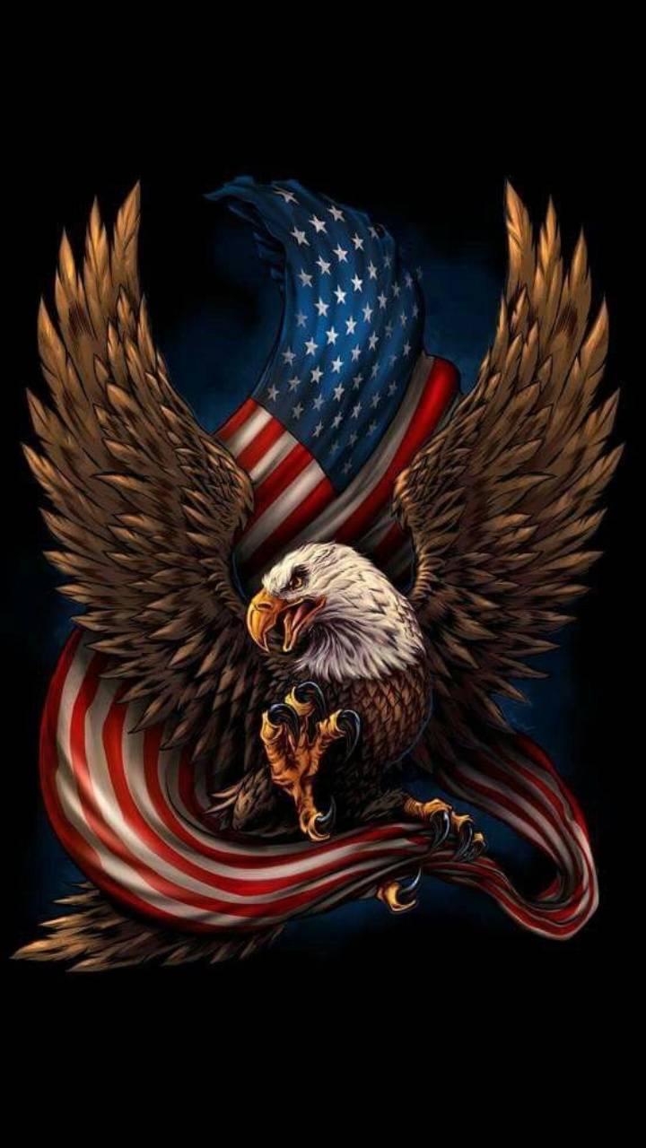 Patriotic Eagle Wallpaper By Briank242 Ea Free On Zedge