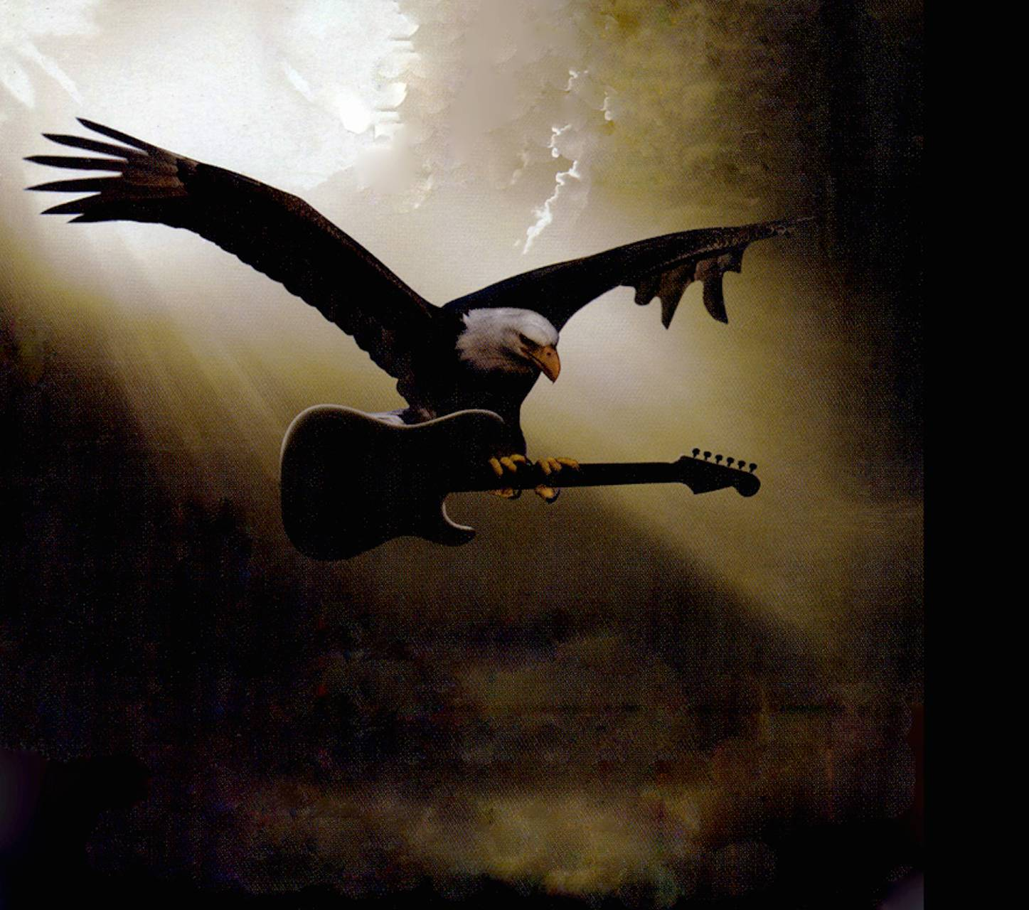 Soaring Guitar Eagle