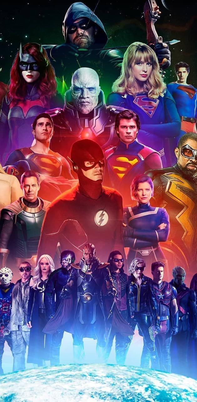 Arrowverse heroes