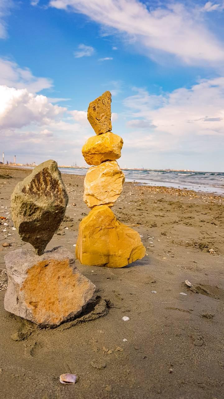 Rocks at Black Sea