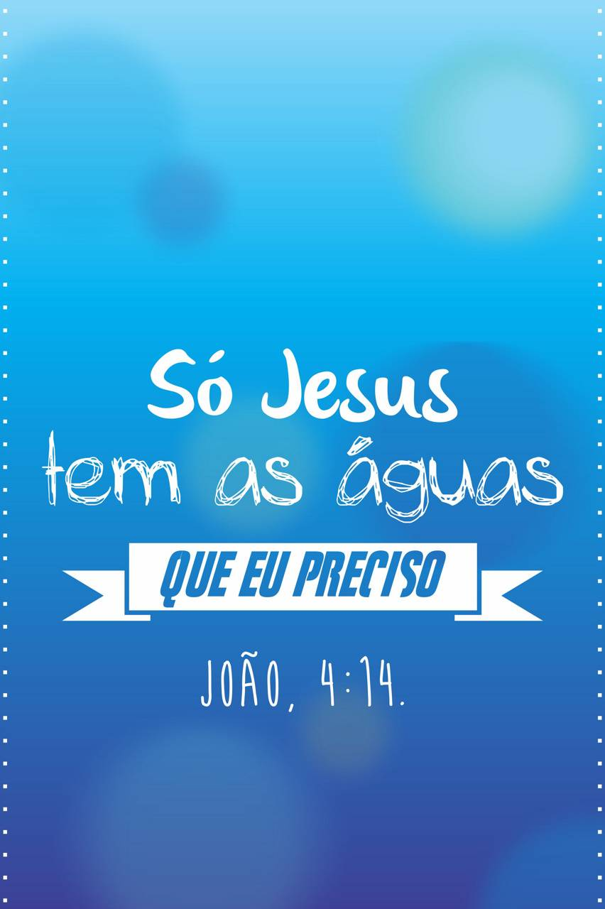 As aguas de Jesus