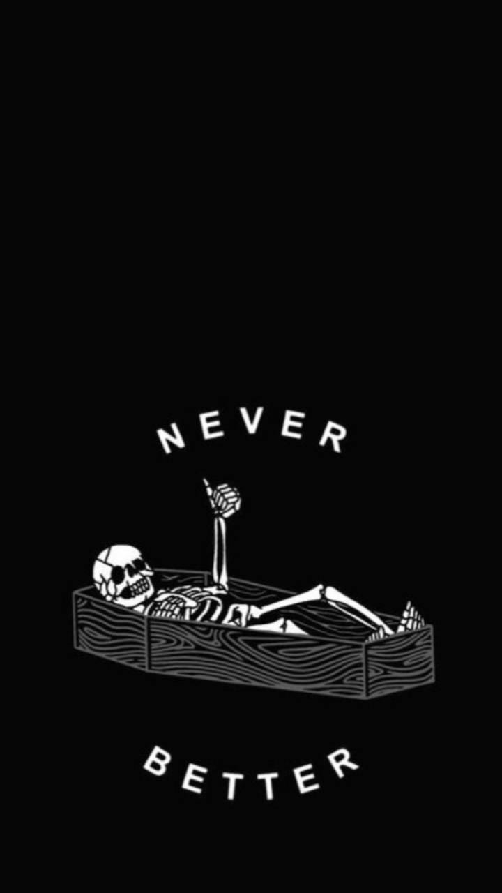 Skeleton thumbs up