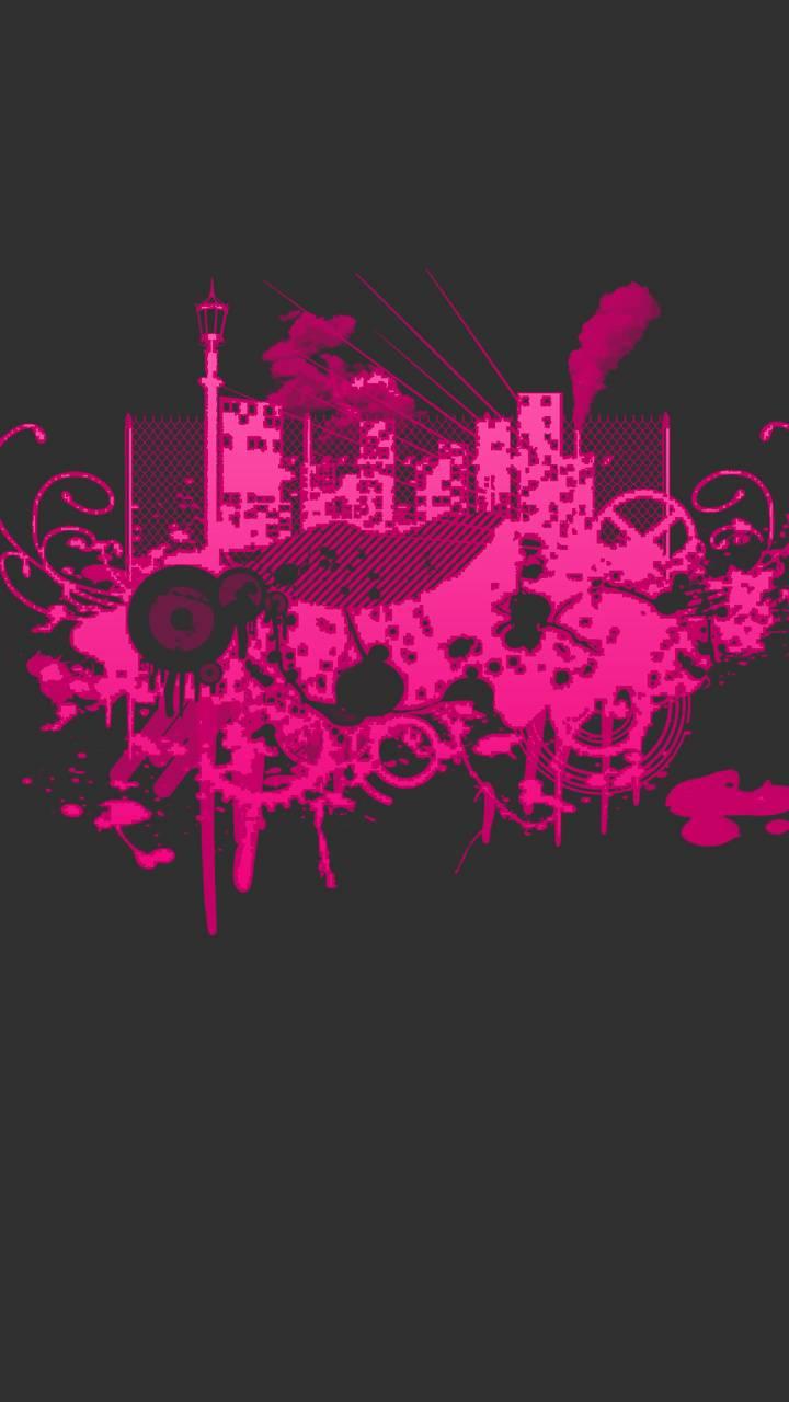 mnimal pink gray