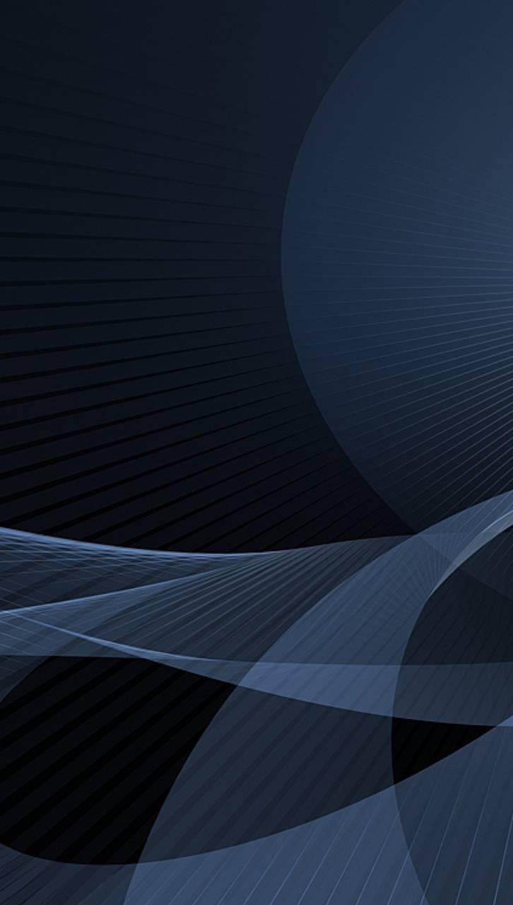 Genn Abstract Blue