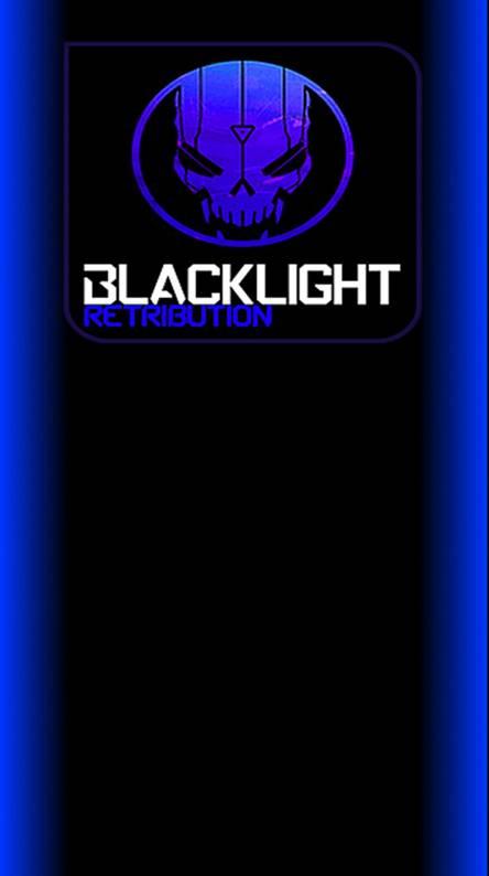 blacklight neon blue