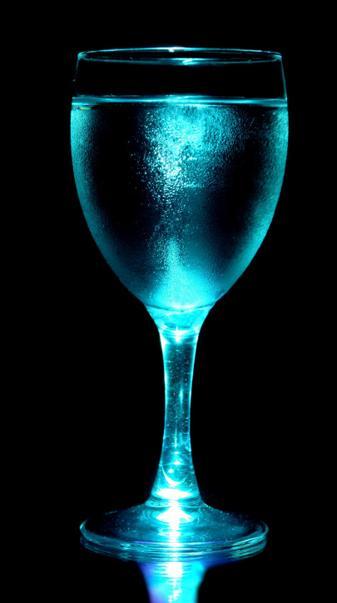 Neon Wine Glass