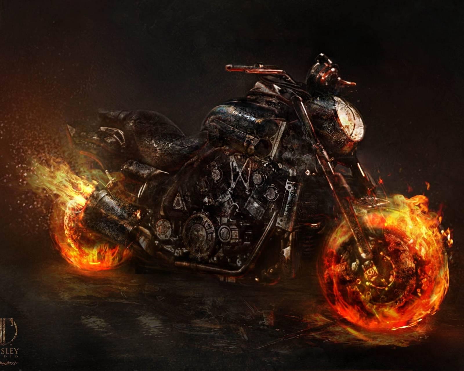 Ghost Ride Bike Hd