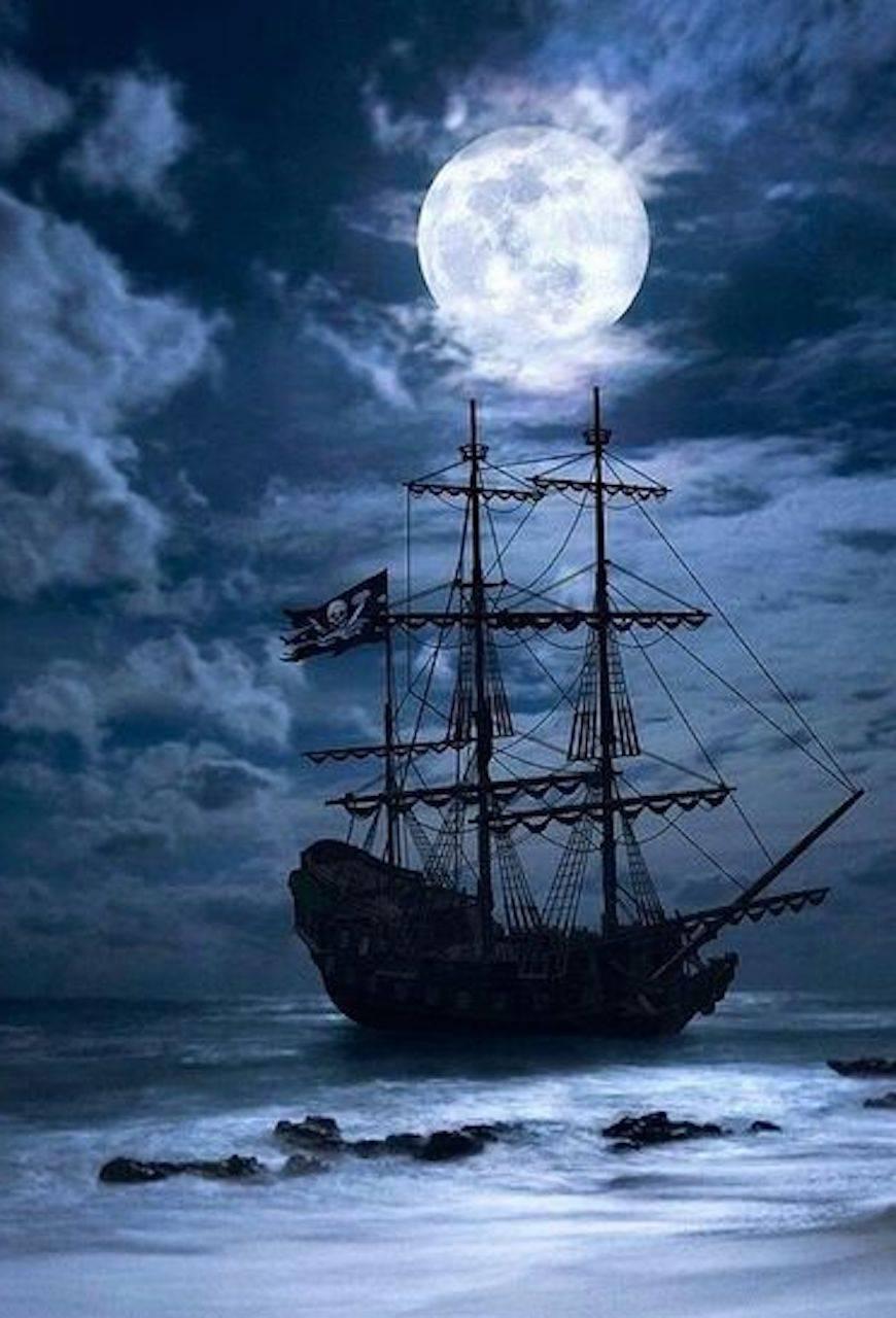 pirate ship wallpaper by tubar - b8