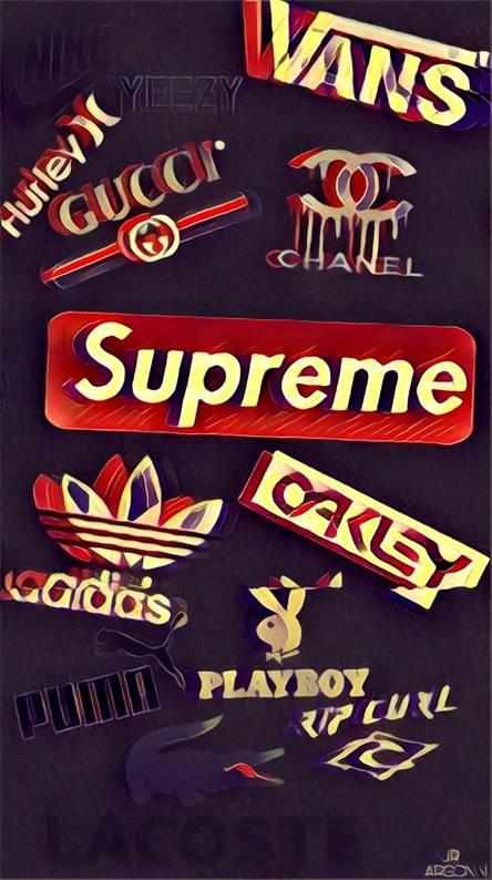 Supreme nad Gucci