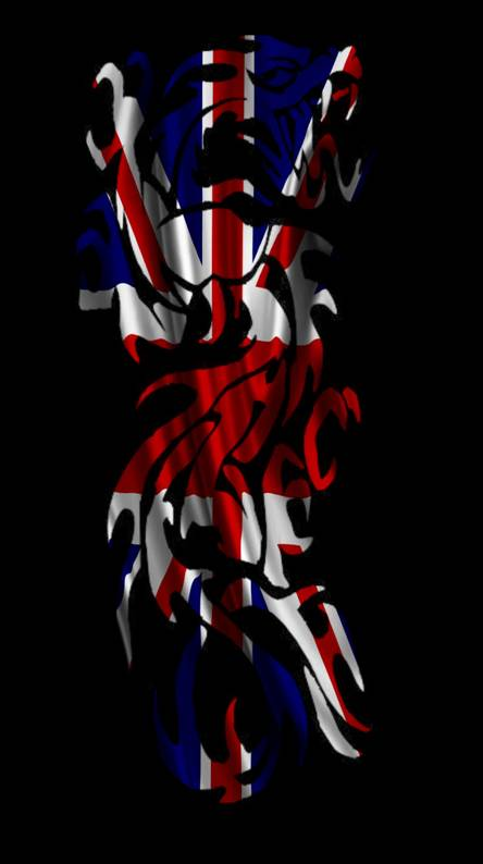 British Flag Dragon