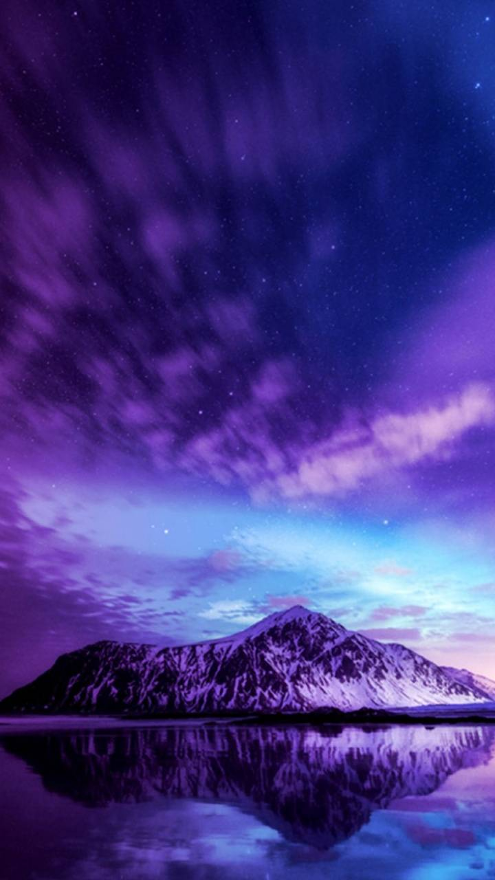 Purple Moutains