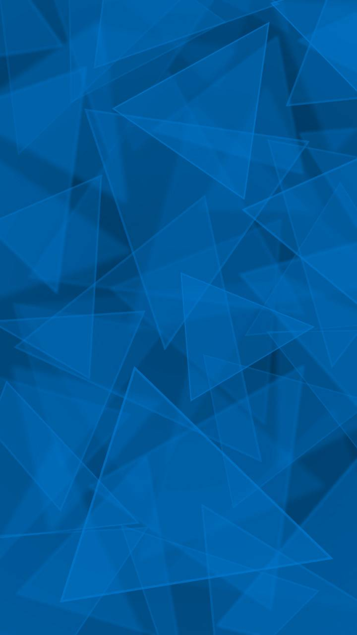 Triangles Cyan