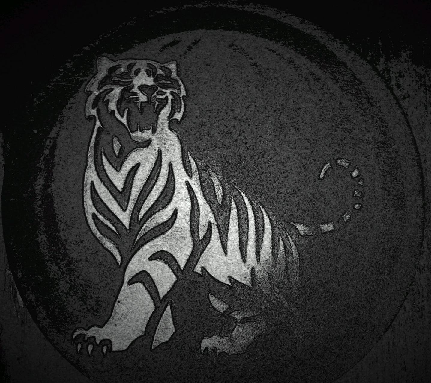 Tiger charcoal