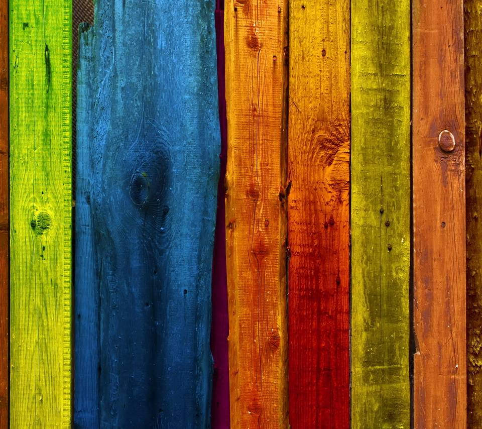Colored Wood Hd