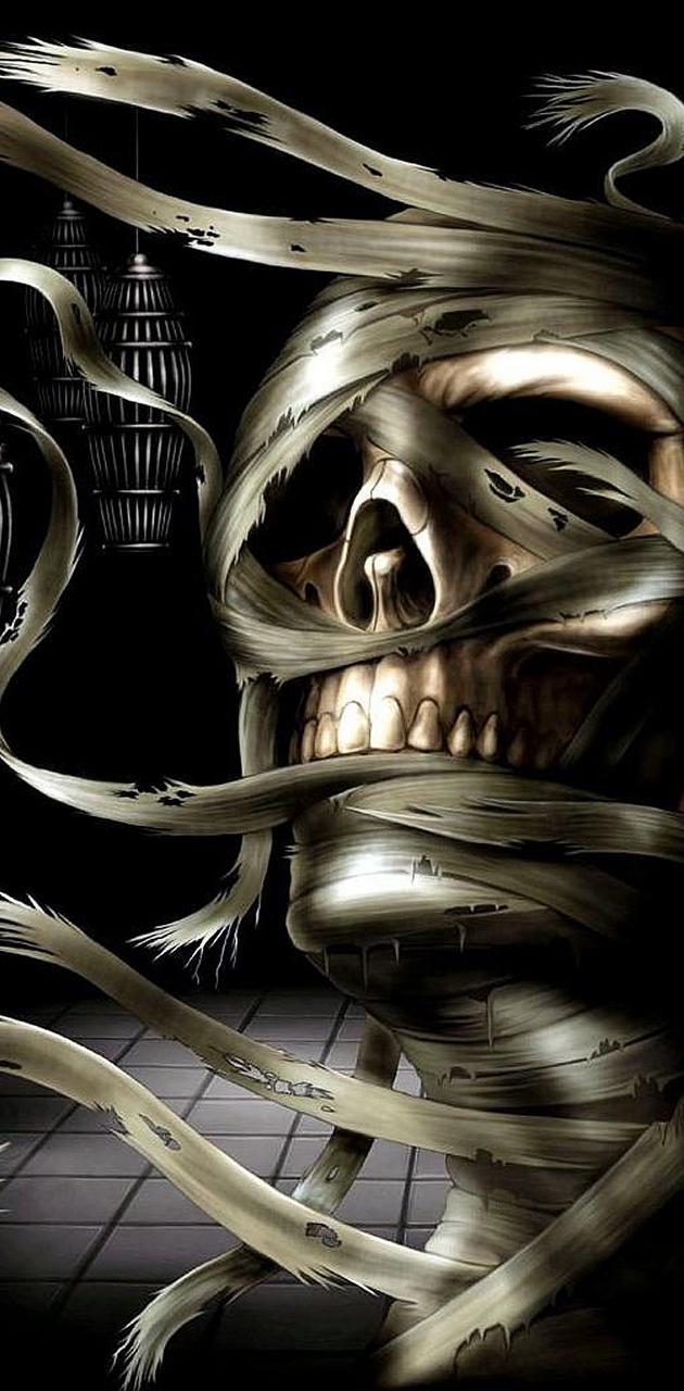 Skull mummy