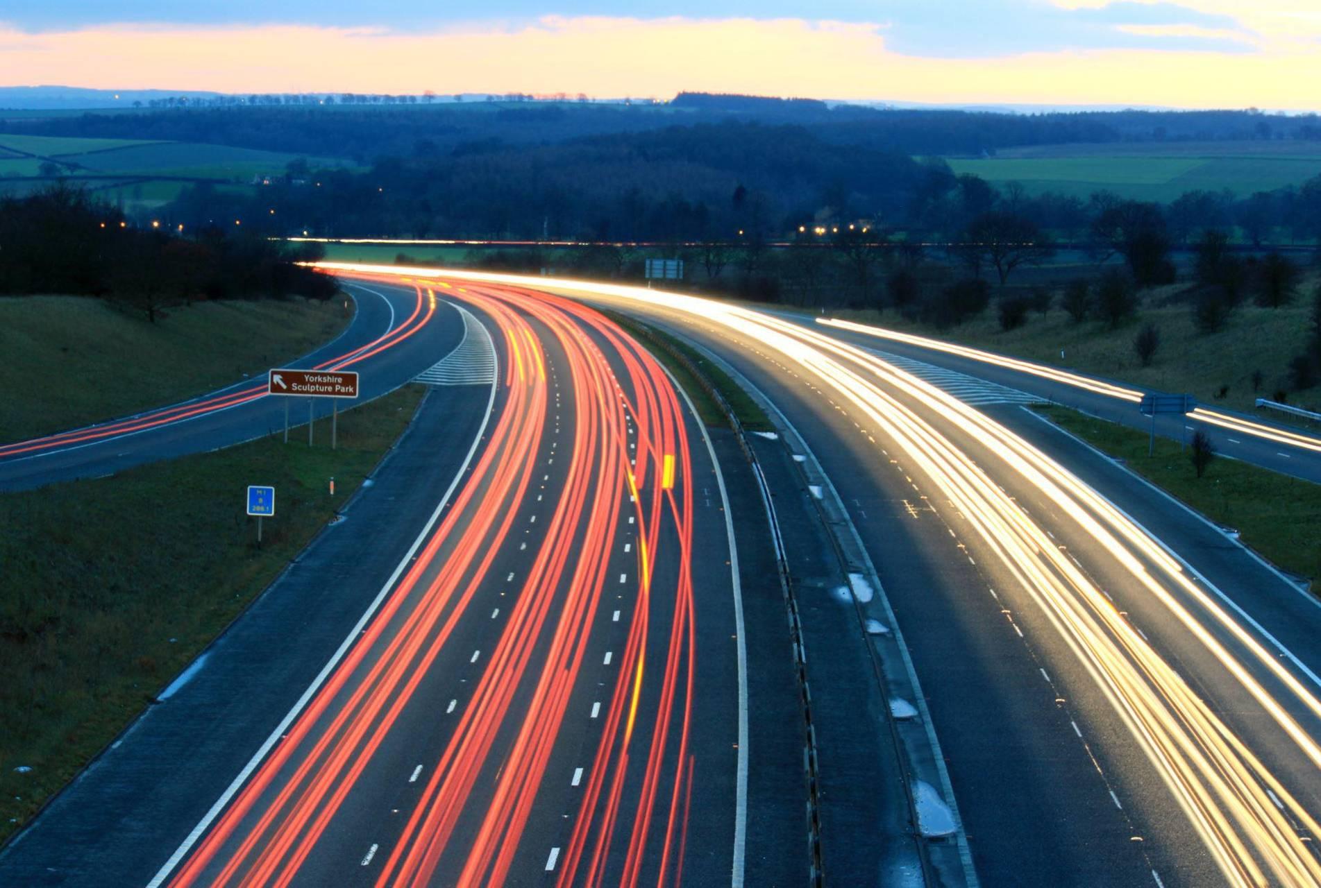 Motorway Nightshot
