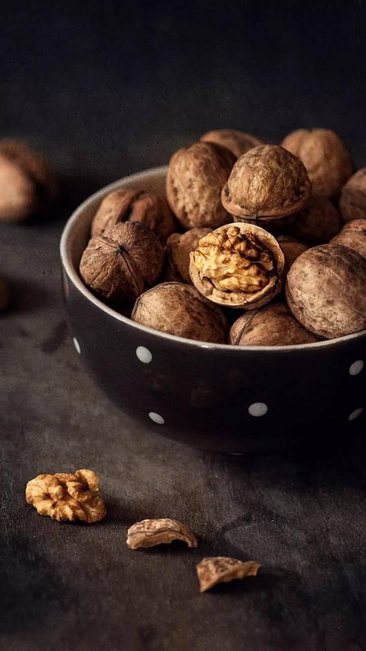 Closeup walnut