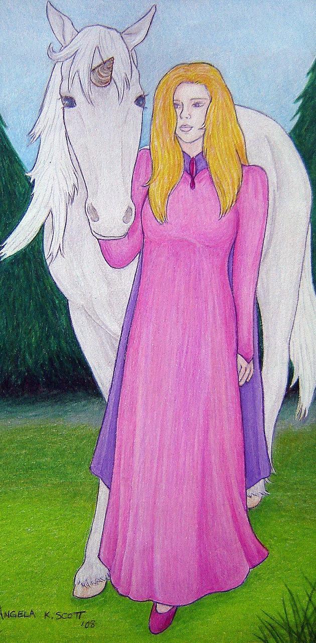 Lady Unicorn Art